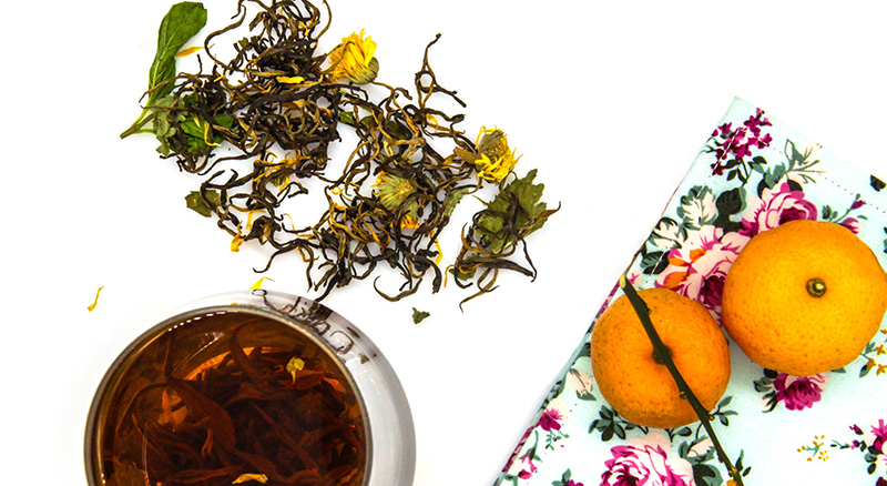 Why Choose Blended tea with Real Herbs and Flowers?